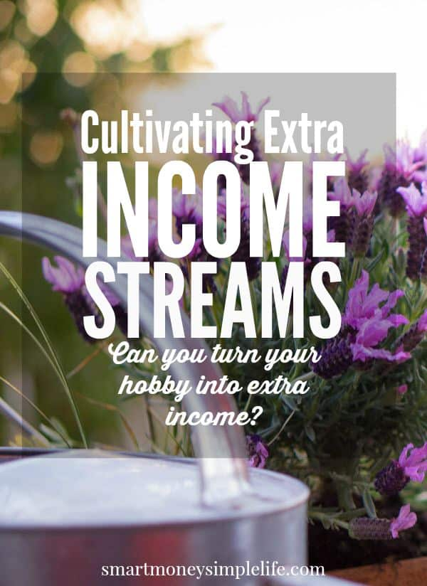frugal living tips - cultivating extra income streams