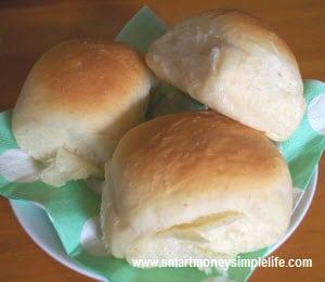spending challenge dinner rolls