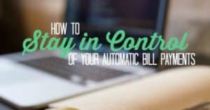 automatic bill payments