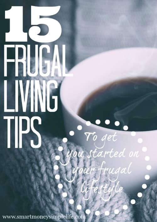 15 frugal living tips