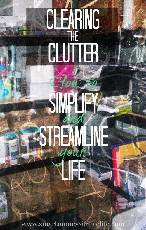 clearing the clutter