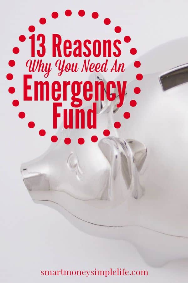 reason you need an emergency fund