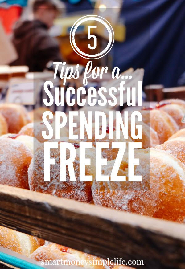 Spending freeze - 5 tips to successful no spend month