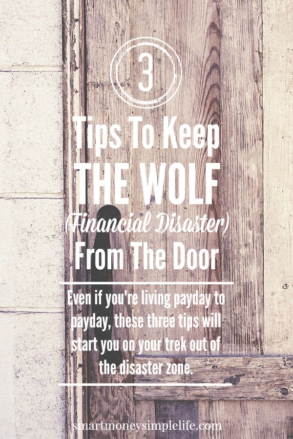 tips for avoiding financial distaster