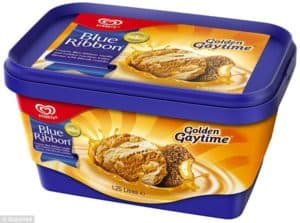 the iconic Australian ice-cream - golden gaytime