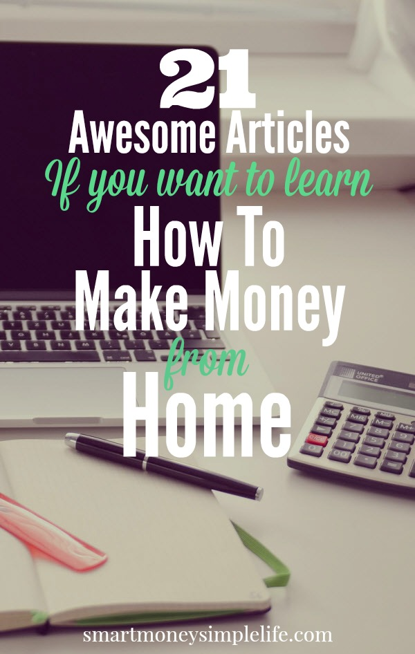 Frugal living - learn how to make money from home
