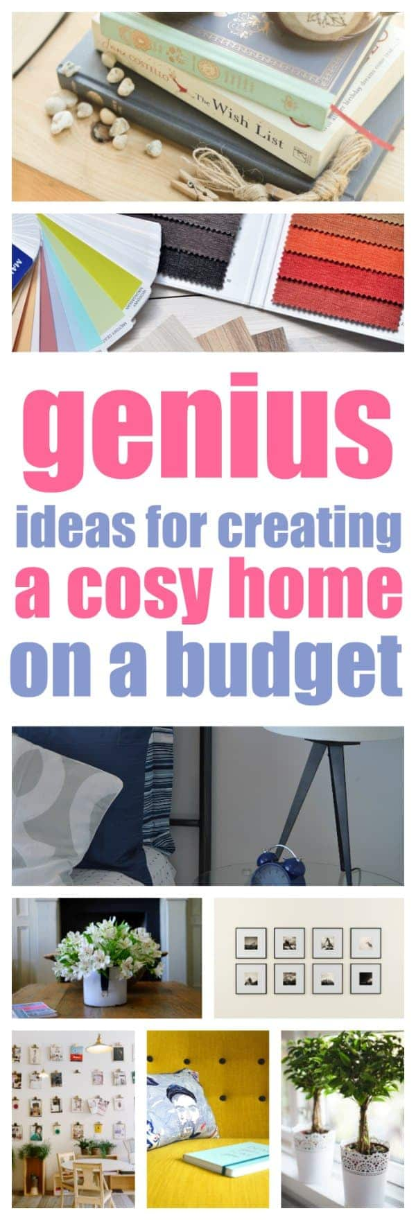 thrifty ideas that are genius ways to create a cosy home on a budget