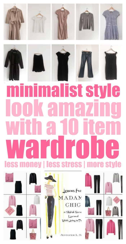 10 item wardrobe minimalist style