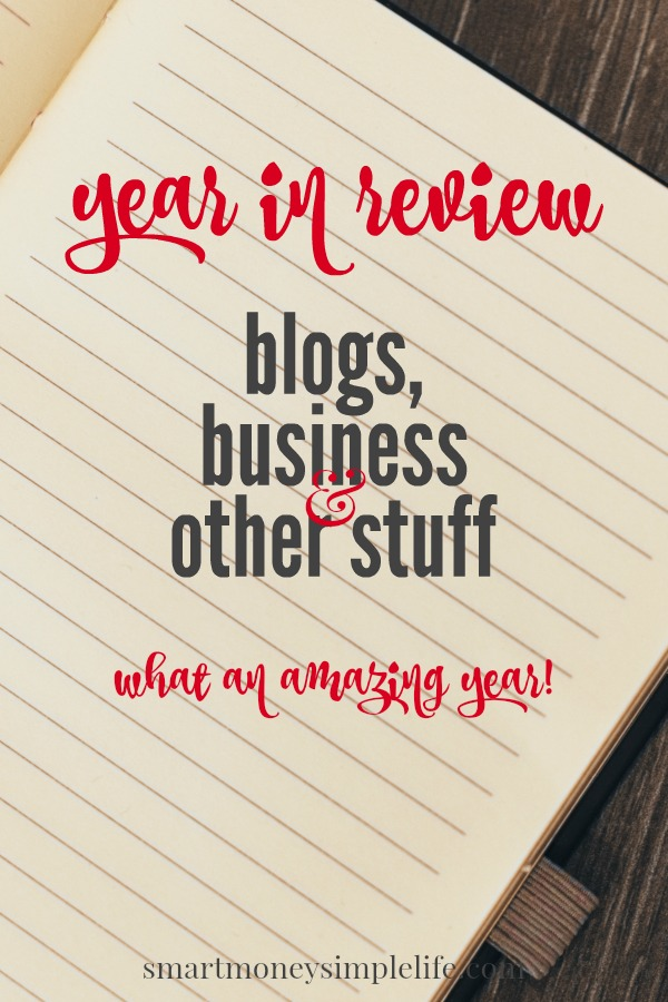 2015 in review - blogging and business