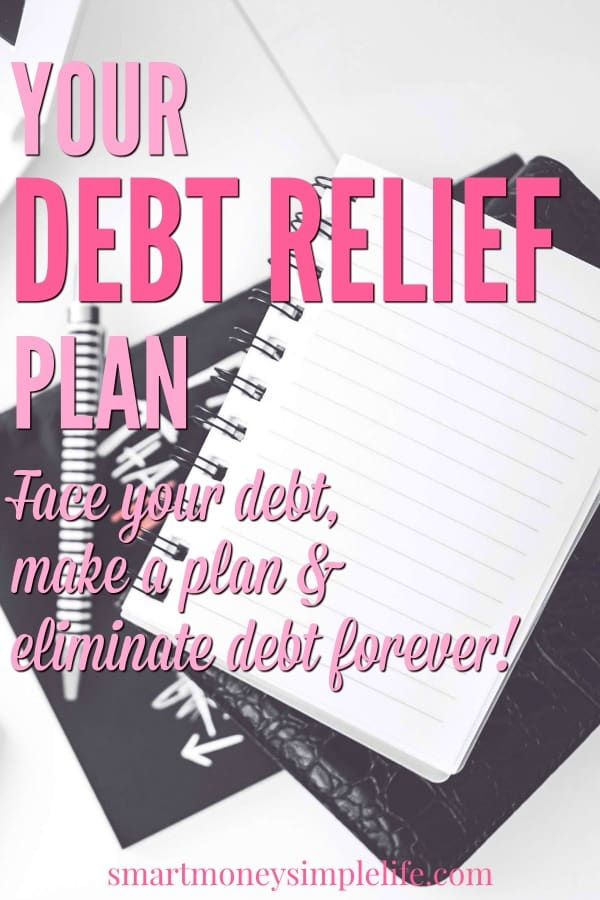 your debt relief plan for eliminating your debt forever