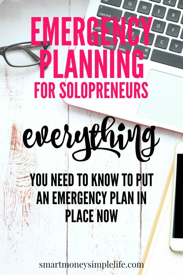 emergency planning for solopreneurs