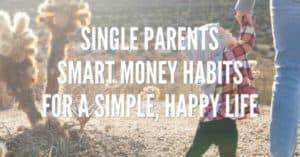 single parents smart money habits