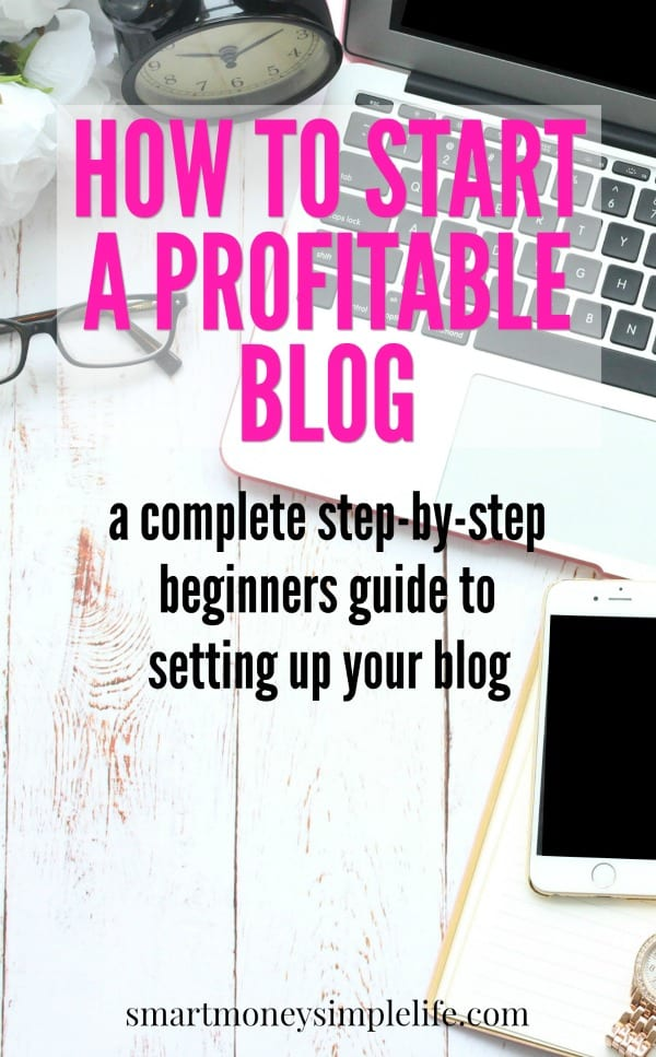 How to start a profitable blog. A simple step-by-step guide to getting your own money making blog started without spending a fortune.