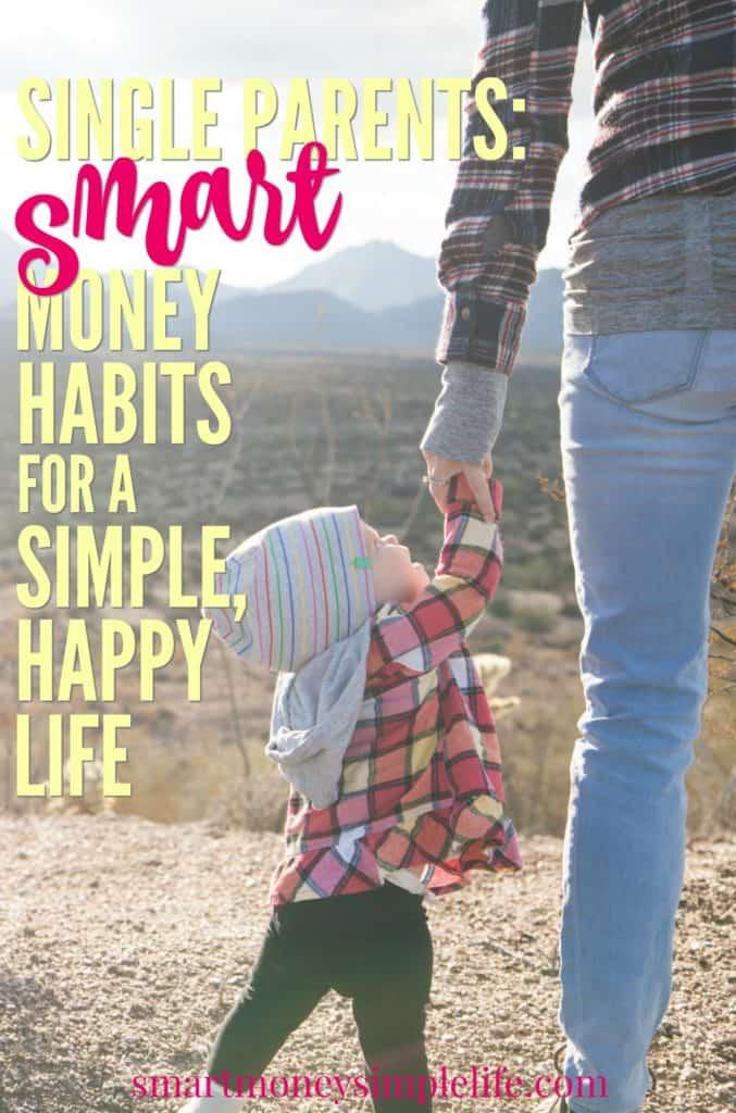 smart money habits for single parents