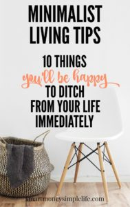 minimalist-living-tips-10-things-to ditch