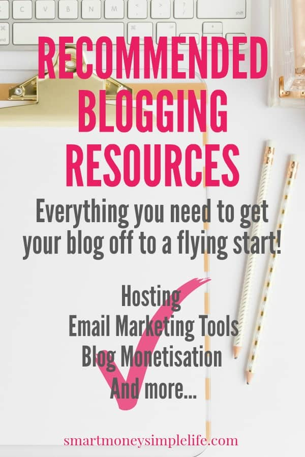 Recommended Blogging Resources: Everything you need to know to get your new blog off to a flying start.