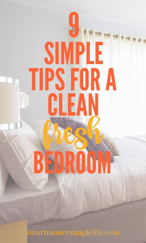Tips for a clean fresh bedroom. | Healthy Living | Home Tips