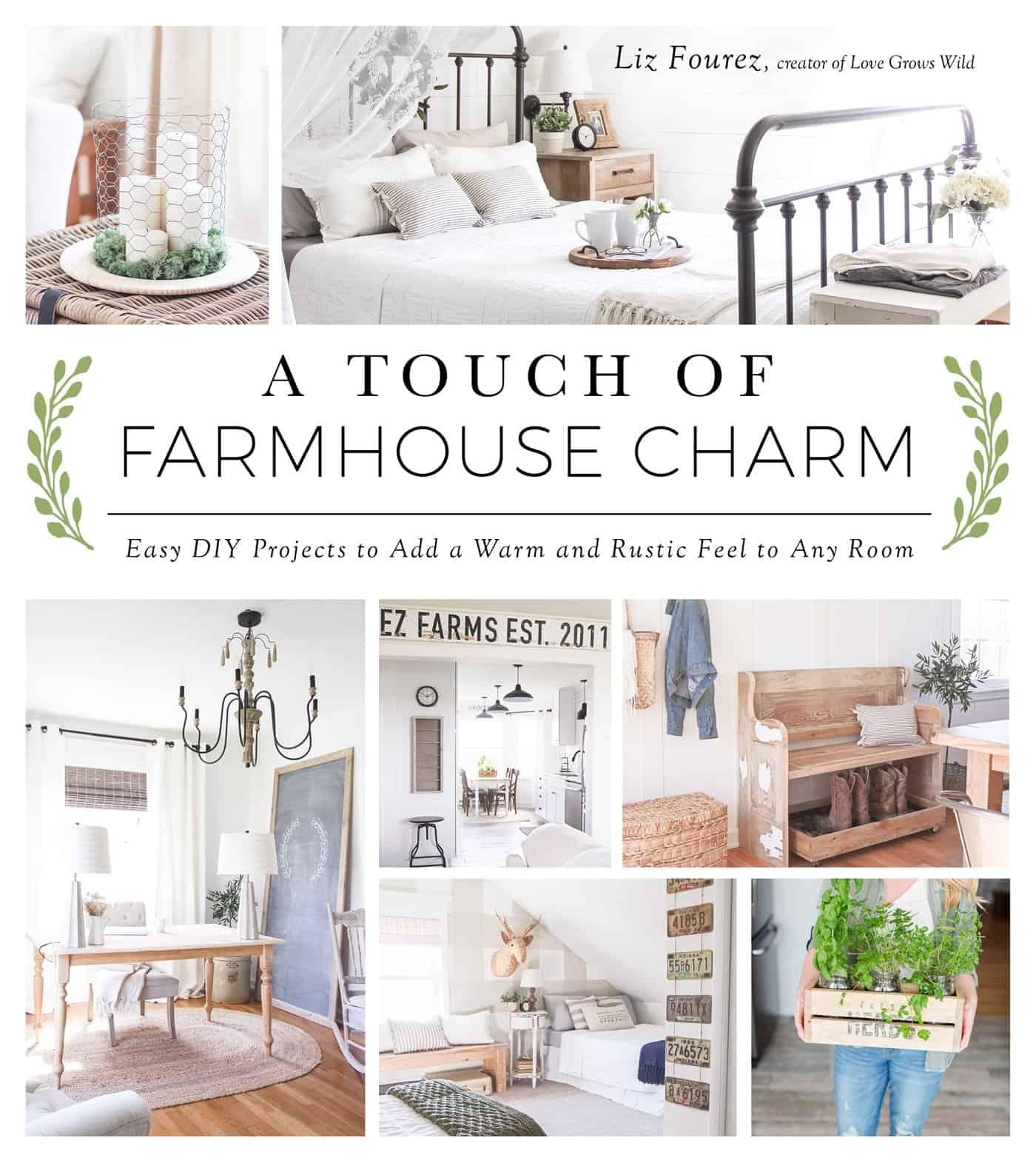 Gorgeous Books: A Touch of Farmhouse Charm