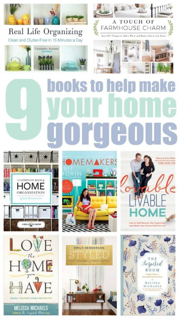 Gorgeous Books for Home Improvement