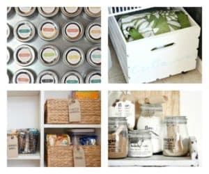 Organise your pantry with these cute, clever and frugal ideas.