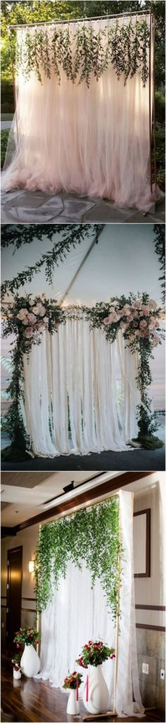 Budget Wedding   15 HOTTEST WEDDING BACKDROP IDEAS FOR YOUR CEREMONY