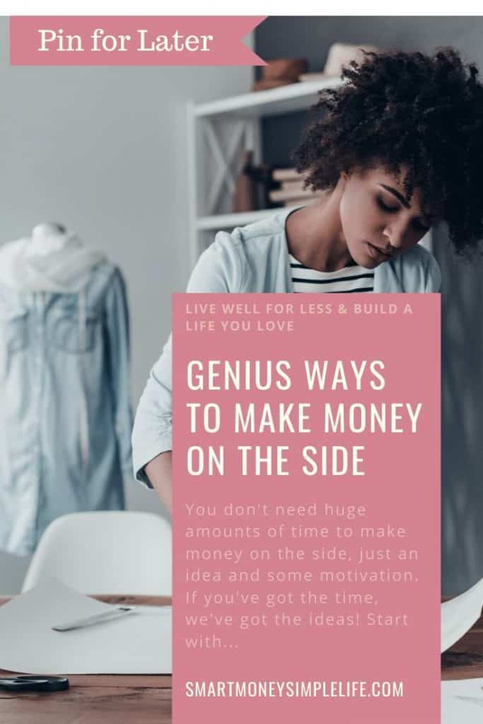 You don't need huge amounts of time to make money on the side, just an idea and some motivation. If you've got the time, we've got the ideas! Start with...