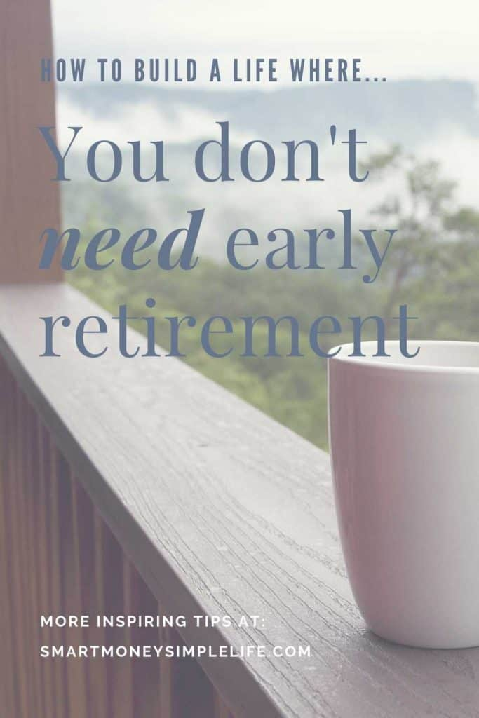 You too can choose to make early retirement redundant so start exploring side hustles or other ways to create a life that doesn't need retirement to make it worthwhile or bearable. What's your plan? Early retirement or a life where retirement is obsolete concept?